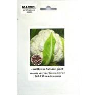 Семена капусты цветная Осенний гигант (Италия), 250 семян