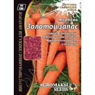 Семена моркови Золотой Запас, 15г