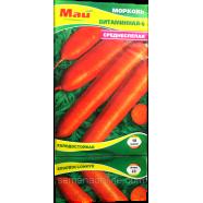 Насіння моркви Вітамінна-6, 10 м