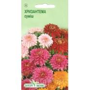 Семена цветов Хризантема смесь многолетняя индийская, 0,01г.