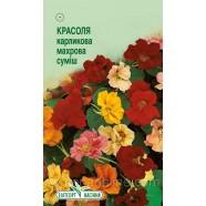 Семена цветов Настурция (Красоль) карликовая смесь, 10шт.