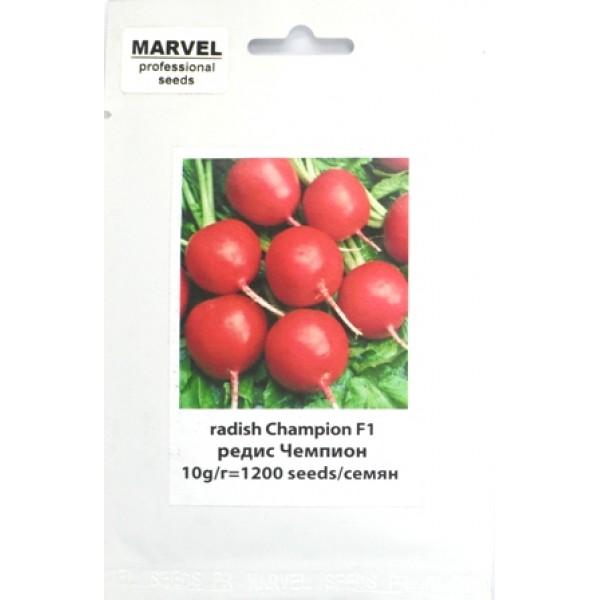 Семена редиса Чемпион (Италия), 1200 семян.