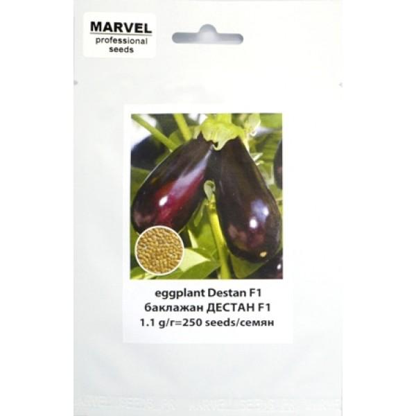 Семена баклажана Дестан F1 (Польша), 250 шт