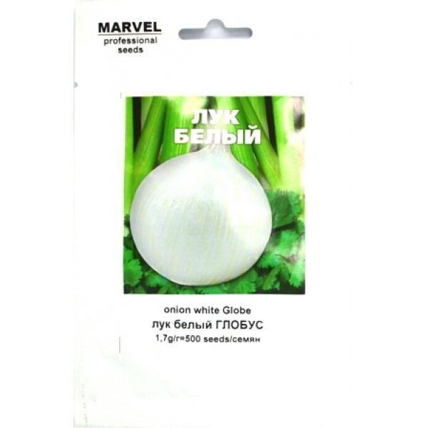 """Насіння цибулі """" Глобус білий (Італія), 500 шт"""