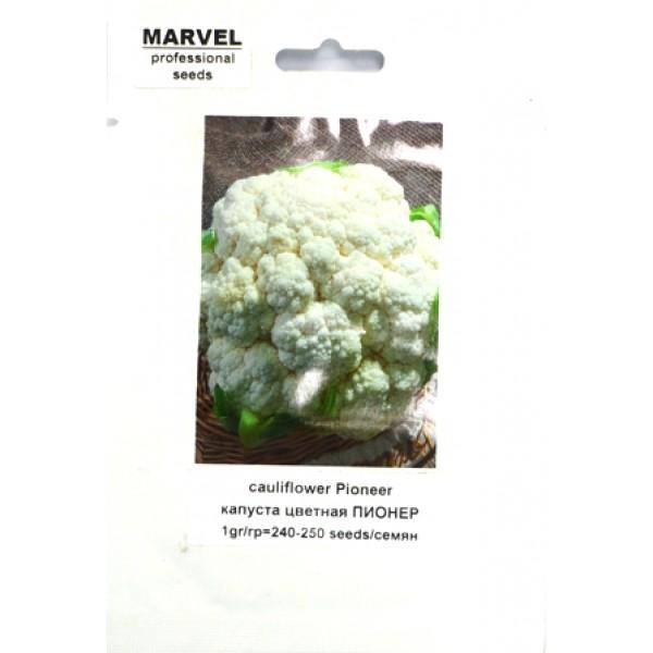 Насіння капусти кольоровий Піонер (Італія), 250 насінин