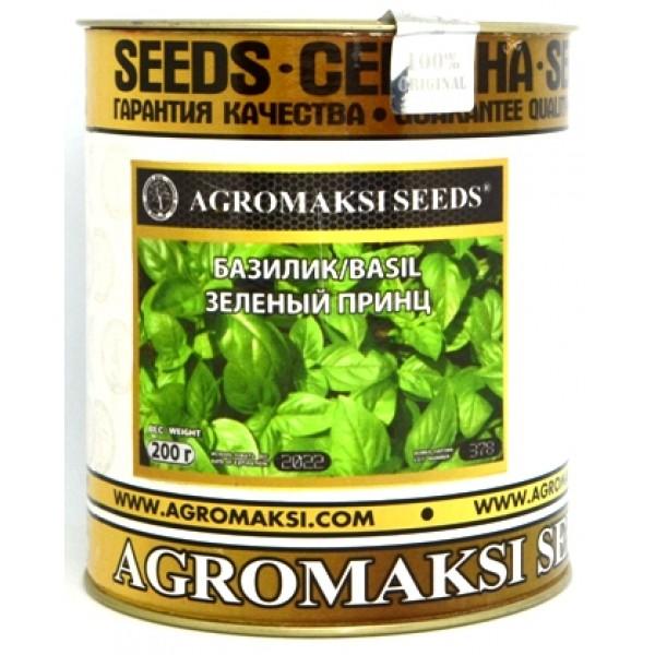 Семена базилика Зеленый Принц, (Италия), 0,2кг