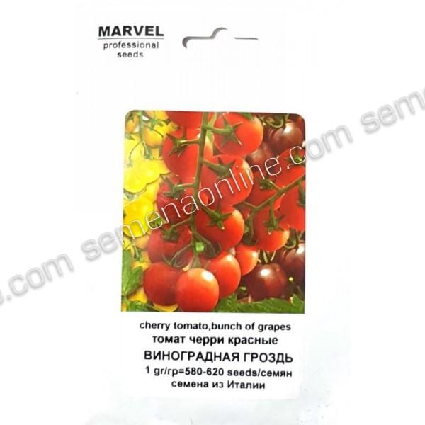 Семена томата Виноградная гроздь (red cherry), (Италия), 1г