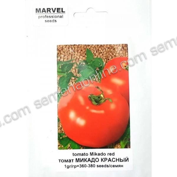 Семена томата Микадо красный (РФ), 1г