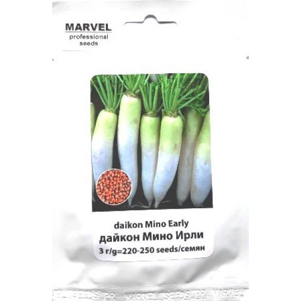 Семена дайкона Мино Ирли (Польша), 3г