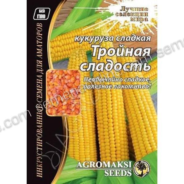 Семена кукурузы Тройная Сладость, 20г