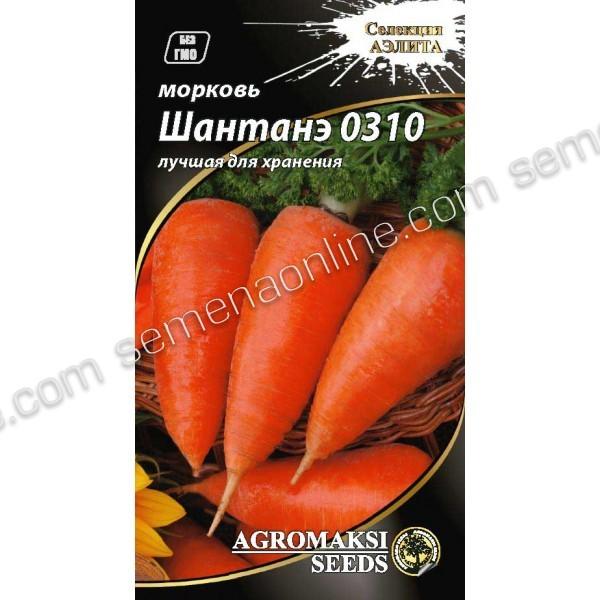 Семена моркови Шантане 0310, 3г