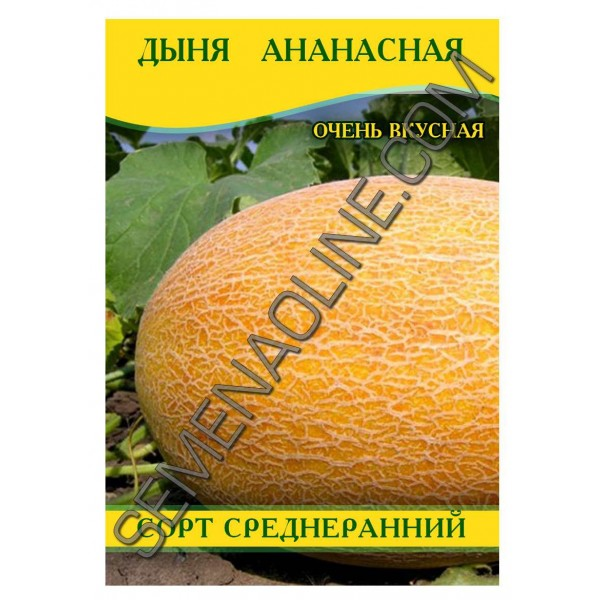 Семена дыни Ананасная, 100г