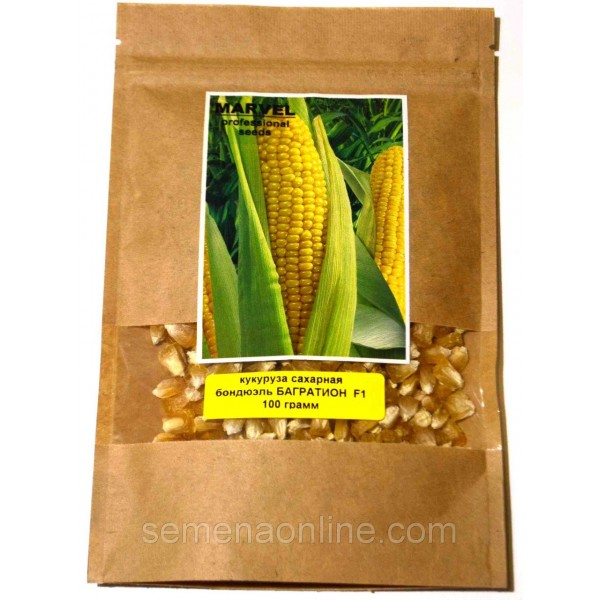 Семена кукурузы сахарная бондюэль Багратион F1 (Украина), 100 гр