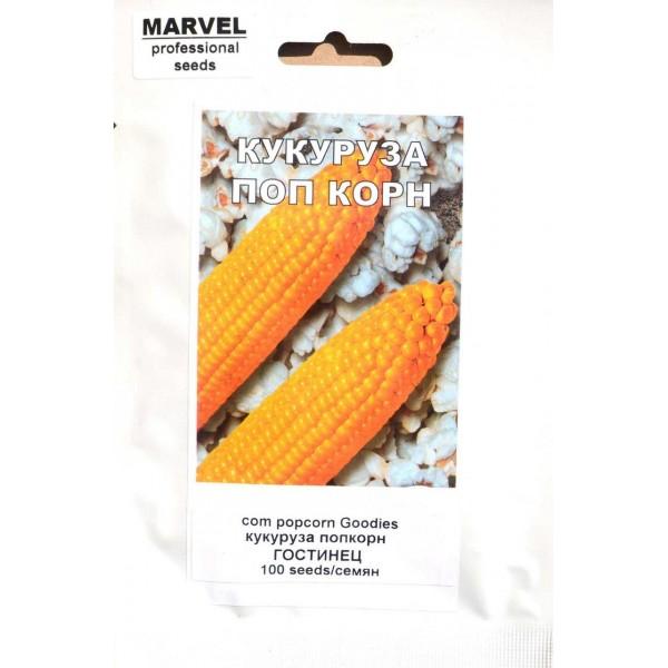 Семена кукурузы Гостинец попкорн (Украина), 100 семян