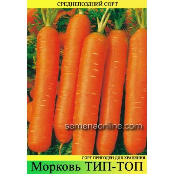 Насіння моркви Тіп Топ, 1кг