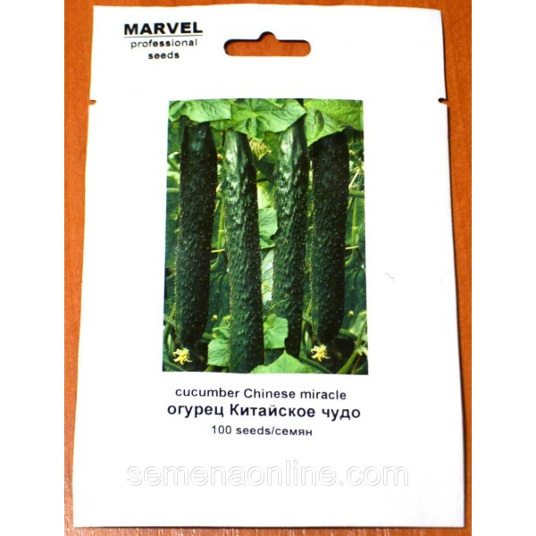 Семена Огурца Китайское чудо (Украина), 100 семян