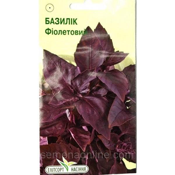 Насіння базиліка Фіолетовий, 0,2 г