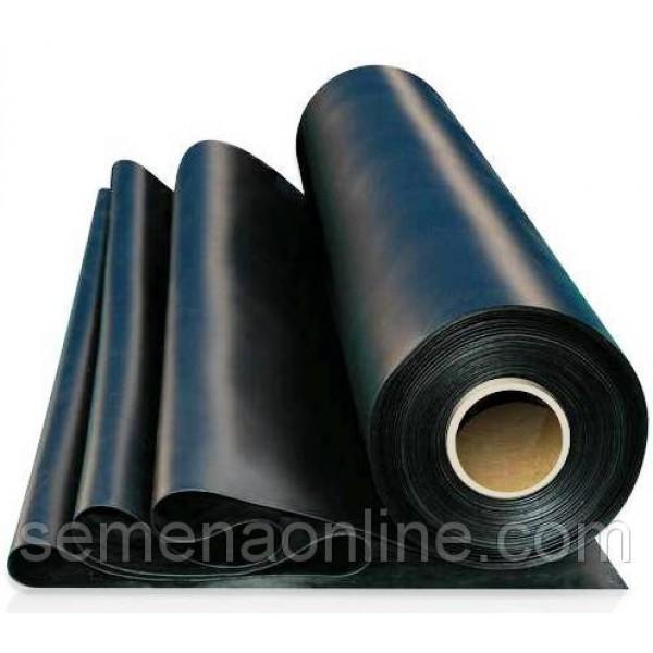 Пленка полиэтиленовая черная в размотку, 60мкм, ширина 3м
