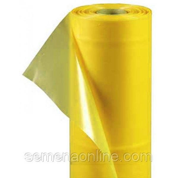 Плівка теплична жовта в розмотування, 100мкм, ширина 6м